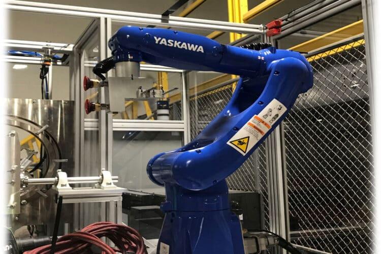 Sharps Decanting Robot at New England MedWaste